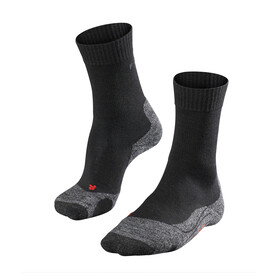 Falke TK2 Socks Women grey/black